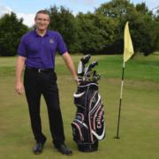 PGA Professional Jason Groat taking a golf lesson